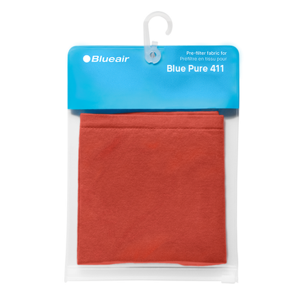 Blue Pure 411 Pre-filter Saffron Red