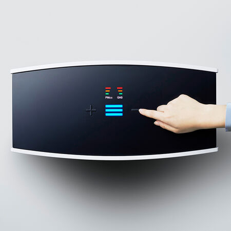 Blueair Pro M air purifier controls