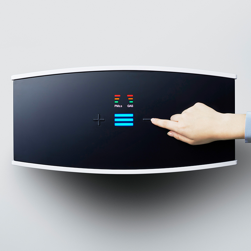Blueair Pro L air purifier controls